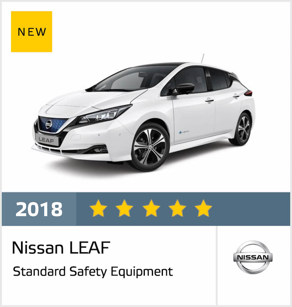 New Leaf Charging Ahead With 5 Star Result In Toughest Safety Tests
